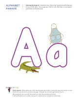 Alphabet Worksheets - great selection and variety for all letters.
