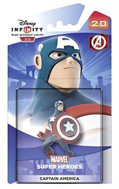 Disney Infinity 2.0 Character - Captain America Figure
