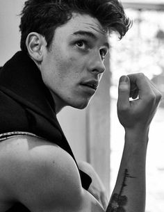 Shawn Mendes photographed by Sebastian Kim for L'Uomo Vogue