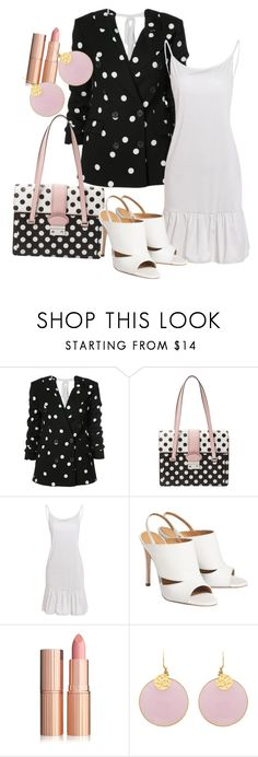 """""""Untitled #2542"""" by faeryrain on Polyvore featuring Monse, RED Valentino and PolkaDots"""