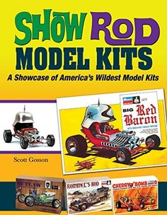 SPP-1560  Show Rod Model Kits: A Showcase of America This all-new book covers what was often the inspiration for all the crazy show rods, the model kits themselves. Viewed from a collector's standpoint rather than a builder's point of view, all of the coolest and wildest kits are featured. Covers the builders, designers, the manufacturers and of course, the collectors. 14 pages