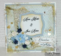 Kristins lille blogg: Gullbryllupskort