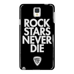 Rockstars Never Die - Samsung Galaxy Note 4 Phone Case