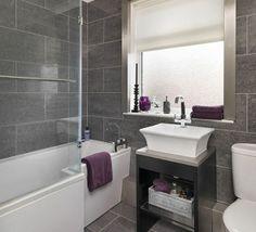 Voorbeeld kleine #badkamer