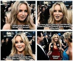 Funny Interview Quotes of Jennifer Lawrence