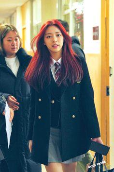 Kpop Girl Groups, Korean Girl Groups, Kpop Girls, Asian Woman, Asian Girl, Snsd, School Uniform Fashion, Kpop Outfits, Mamamoo