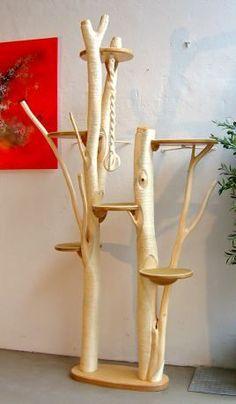Kratzbaum Modell 1 Frontansicht Mehr