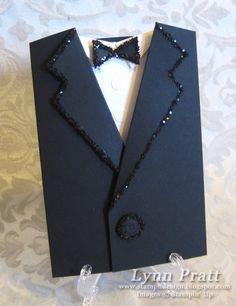 Tuxedo Pocket Card | Stamp-n-Design Store
