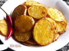 Talarki ziemniaczane z czosnkiem - Gotuj zdrowo, kolorowo! Sweet Potato, Grilling, Potatoes, Vegetables, Food, Crickets, Potato, Essen, Vegetable Recipes