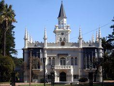 Finca Aurelio Berro ubicada en Avenida Agraciada 3399 Monumento Histórico Nacional desde 1999. +++++ PRADO . MONTEVIDEO , URUGUAY +++