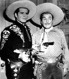 """Hey Pancho!"" Hey Cisco!""   For those of you old enough to remember watching The Cisco Kid on TV (1950-1956, and later in reruns), did you know that Leo Carrillo was 70 when he started playing the role of Pancho? Amazing, considering he was so active in the role! Duncan Renaldo, who played Cisco, was from Romania (not Mexico or Spain as many assumed). He was 47 when the show began. In the age of black & white TV, The Cisco Kid was actually filmed in color."
