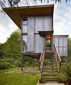 Cabaña en Sol Duc / Olson Kundig Architects – Plataforma Arquitectura
