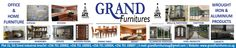 Grand furniture large format signpost