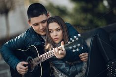 Young couple city outdoor by DJ Photography on @creativemarket