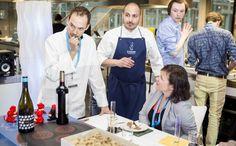 Per tre giorni a Londra Food Ink organizza una cena speciale (stellata), con pietanze prodotte da una stampante multimateriale 3d Printing, Dinner, Impression 3d