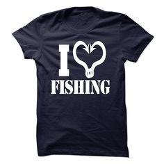 Love FISHING. Check this shirt now: http://www.sunfrogshirts.com/Love-FISHING-12681663-Guys.html?53507