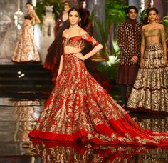 Almost there. | Deepika Padukone And Fawad Khan Walked The Ramp For Manish Malhotra Looking Like Royals