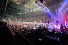 The Crowd at Elbow's show here at Wembley Arena - www.wembleyarena.co.uk