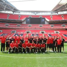 Cheltenham Town FC at Wembley.