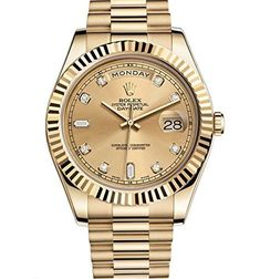 Rolex Day-Date II 2 President Yellow Gold Watch 218238 https://www.carrywatches.com/product/rolex-day-date-ii-2-president-yellow-gold-watch-218238-2/ Rolex Day-Date II 2 President Yellow Gold Watch 218238  #diamondwatchesformen #rolexwatchesformen More diamond watches : https://www.carrywatches.com/tag/diamond-watches/