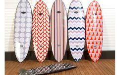 Coco Republic Surfboards for Beach House Decorating