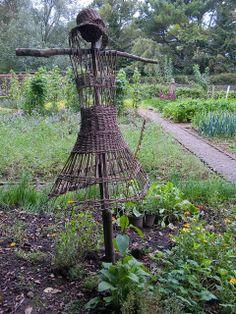 Ballymaloe Cooking Garden Scarecrow
