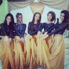 Roupas coreografia ♥