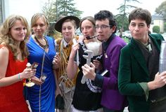Clue boardgame cast group Halloween costumes. I would love to get a bunch of friends together and do this!