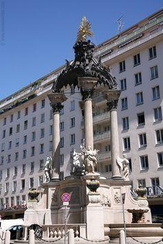 Vermählungsbrunnen (wedding fountain), Hoher Markt - Vienna, Austria