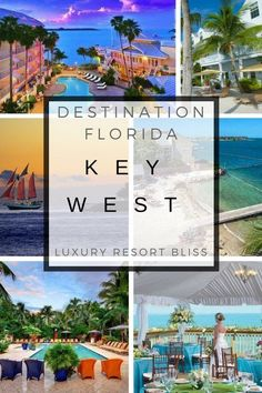 Want a great vacation at a Key West luxury resort? Check them out here. Family Resorts In Florida, Vacation Resorts, Florida Vacation, Vacation Trips, Luxury Resorts, Florida Keys, South Florida, Key West Hotels, Key West Resorts