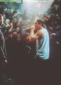 8 Mile Eminem marshall mathers slim shady b-rrabit stan like like like just for… The Real Slim Shady, Eminem Soldier, Eminem D12, Eminem Wallpapers, The Eminem Show, Eminem Quotes, Eminem Slim Shady, Supernatural, Rap God