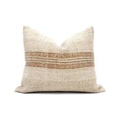 Aqua Throw Pillows, Linen Pillows, Cushions, Pillow Arrangement, Grain Sack, Vintage Textiles, Designer Pillow, Handmade Pillows, Pillow Covers