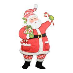 "Ho Ho Peppermint Santa   C9044  28"" x 3"" x 50""  Price $195"