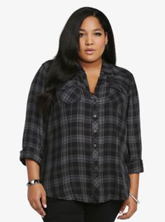 $45.00 - Plaid Shirt