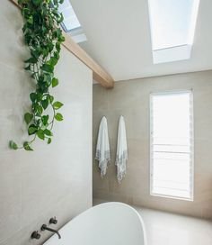 I pinned a few photos of this particular bathroom which i really like. I love the tile, size wise (very large) and colour wise, i. warmer than the colour of my other bathroom pins which are grey. Bathroom Renos, Laundry In Bathroom, Master Bathroom, Loft Bathroom, Fall Home Decor, Cheap Home Decor, Home Decor Kitchen, Home Decoration, Decorations