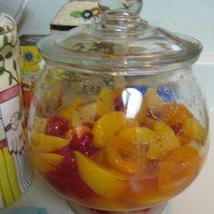 Amish Brandied Fruit Cake Recipe