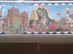 Mural  San Francisco de los Romo  Aguascalientes