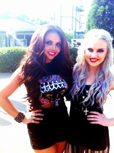 Me and beautiful perrie winkle! -@Little Mix Fanpage