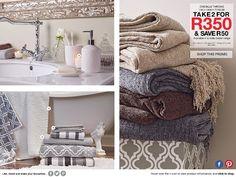 Spring Catalogue Marketing Software, Content Marketing, Mr Price Home, Catalog, Bathrooms, Vanity, Spring, Inspiration, Home Decor