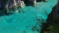 Blue Pools by Tomas Sobek, via Flickr