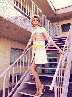 Viva, Las Vegas Hailey Clauson by Nicole Bentley for Vogue Australia 3