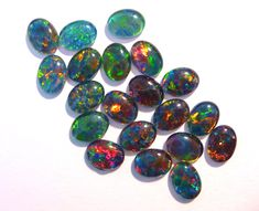 Stunning Australian Opal Triplets - lots of parcels, pairs and singles to choose from in our store :)
