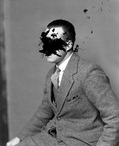 The Classy Issue Foto Portrait, Portrait Photography, Magritte, Faceless Portrait, Male Portraits, Collages, Draw On Photos, Art Alevel, Face Art