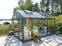 Green Room växthus med stormgaranti - Willab Garden