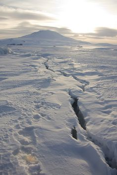 Near McMurdo Station | Antarctica (by David S Williams)