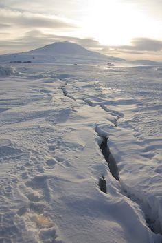 Near McMurdo Station | Antarctica (by David S Williams)