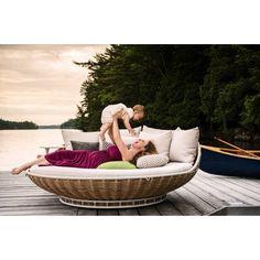 Dedon Swingrest Hanging Lounger - hochwertige Outdoor Gartenmöbel von Dedon