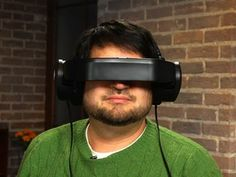 This Headset Beams Video Directly to Your Eyeballs