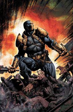 Deathstroke by David Finch (DC comics)