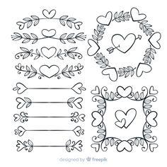 Lettering Tutorial, Simple Doodles, Cute Doodles, Doodle Lettering, Lettering Design, Scrapbook Quotes, Drawing Templates, Bullet Journal Art, Journal Inspiration